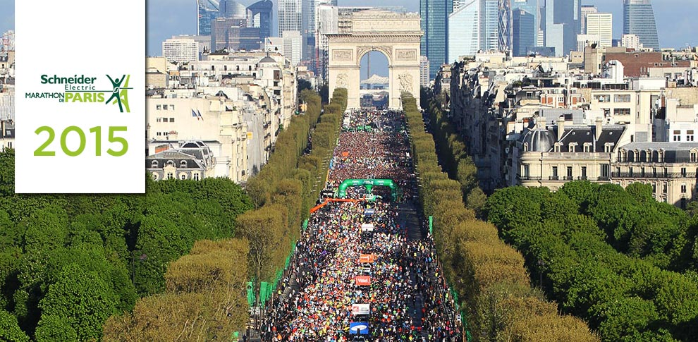Maratona di Parigi 2015