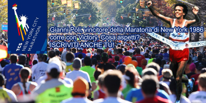 TCS NEW YORK CITY MARATHON POLI CON VICTORY